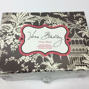 Vera Bradley Imperial Toile Mail Box Stationery